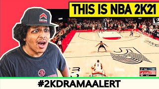 2K RELEASED THE WRONG NBA 2K21 GAMEPLAY, 2K PLAYERS ERUPT