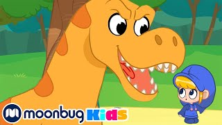 Download The Dinosaur Park | Jurassic Tv | Dinosaurs and Toys | T Rex Family Fun Mp3 and Videos