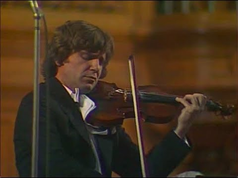 Viktor Tretyakov plays Brahms Violin Concerto, op. 77 – video 1984