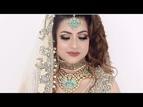 Walima Asian Bridal Hair Makeup Youtube