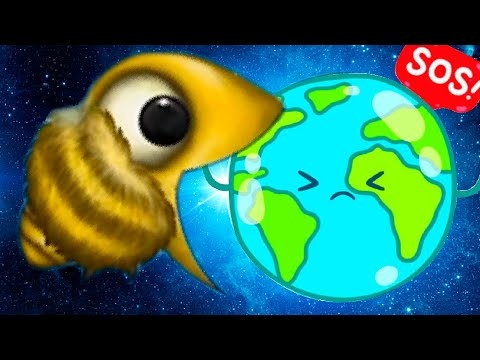 Огромная ПЧЕЛА СЪЕЛА ПЛАНЕТУ ЗЕМЛЯ в игре Tasty Planet Forever #2