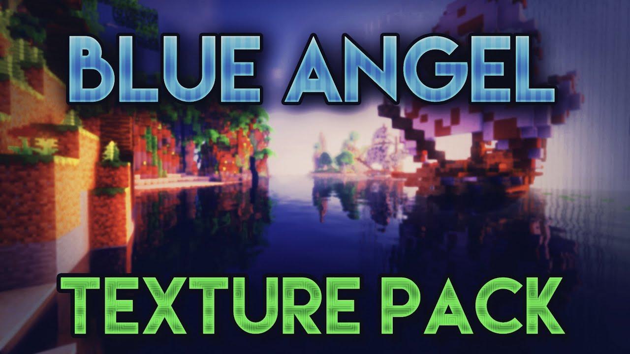 Minecraft PVP TEXTURE PACK | BLUE ANGEL - Explizit | Chrom ...