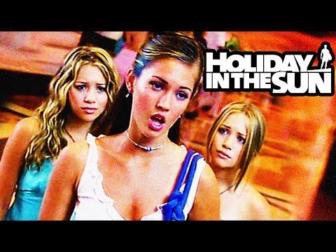 MARY KATE & ASHLEY vs MEGAN FOX in *HOLIDAY IN THE SUN* (feat. my sister Jillian)