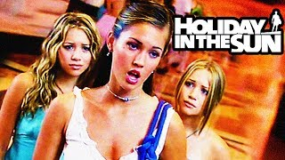 MARY KATE & ASHLEY vs MEGAN FOX in *HOLIDAY IN THE SUN*