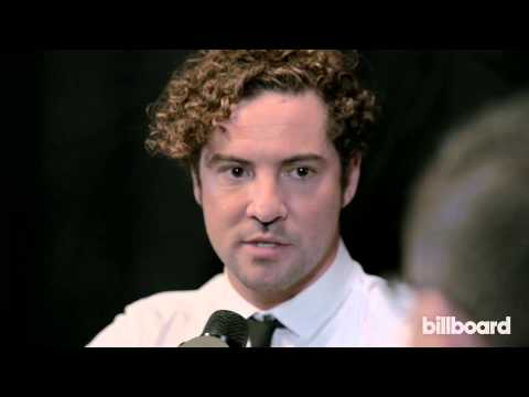 David Bisbal: 2014 Billboard Latin Music Awards Backstage Interview