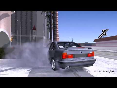 BMW M5 E34 Coupe FAILS CRASH Video Game GTA