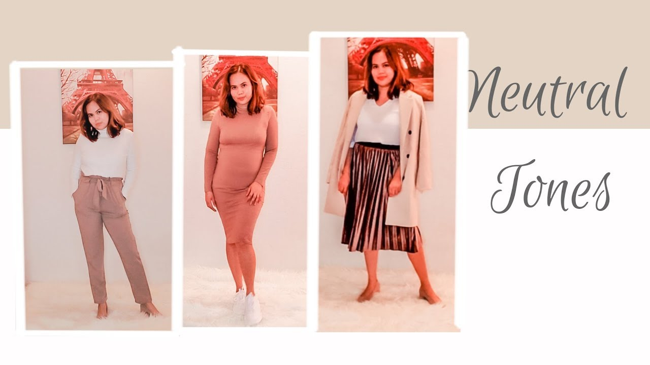 [VIDEO] - 5 WAYS TO WEAR NEUTRAL OUTFITS FOR AUTUMN 2019 || #FALL2019OUTFITS #2019FASHION 2
