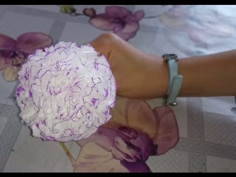 How to make a paper carnation youtube how to make a paper carnation mightylinksfo
