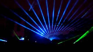 Лазерное шоу в Парке Горького 2. Круг света 2012
