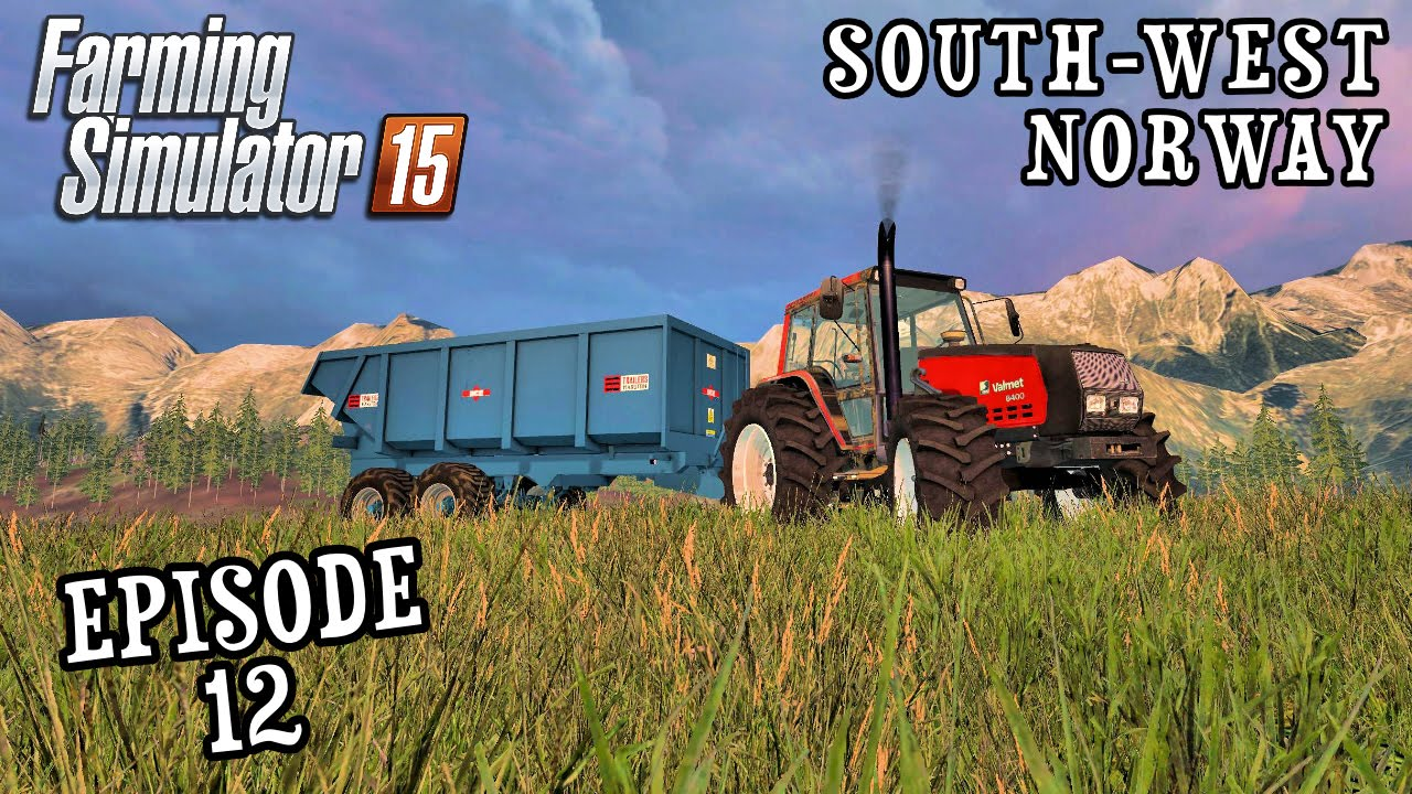 Lets Play Farming Simulator South West Norway Episode - Norway map farming simulator 2015