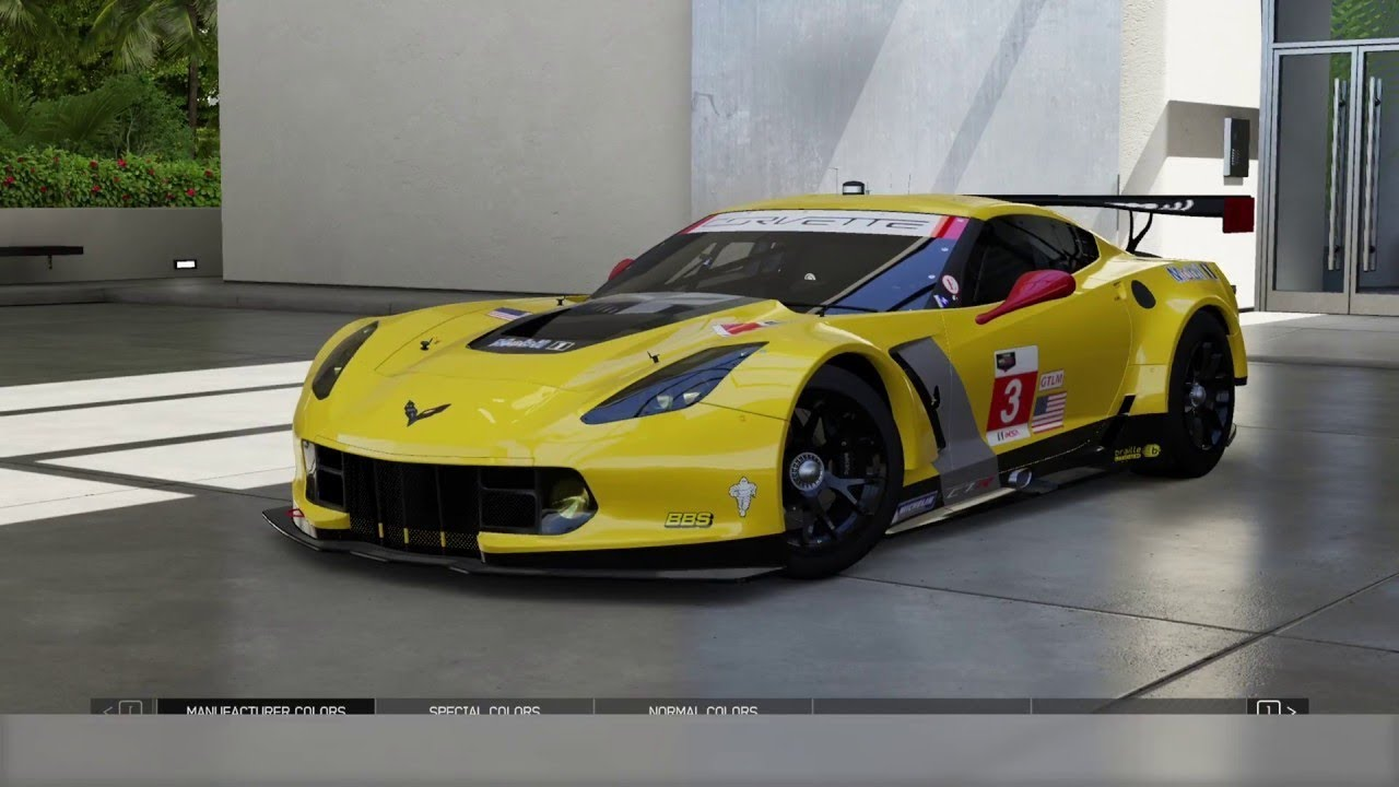 forza motorsport 7 corvette at spa francorchamps endurance 23 laps youtube. Black Bedroom Furniture Sets. Home Design Ideas