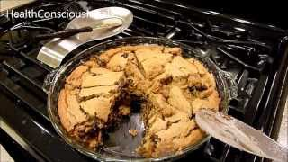 Vegan Deep Dish Chocolate Chip Cookie Pie By Chocoalte Covered Katie - Healthconsciousmeals
