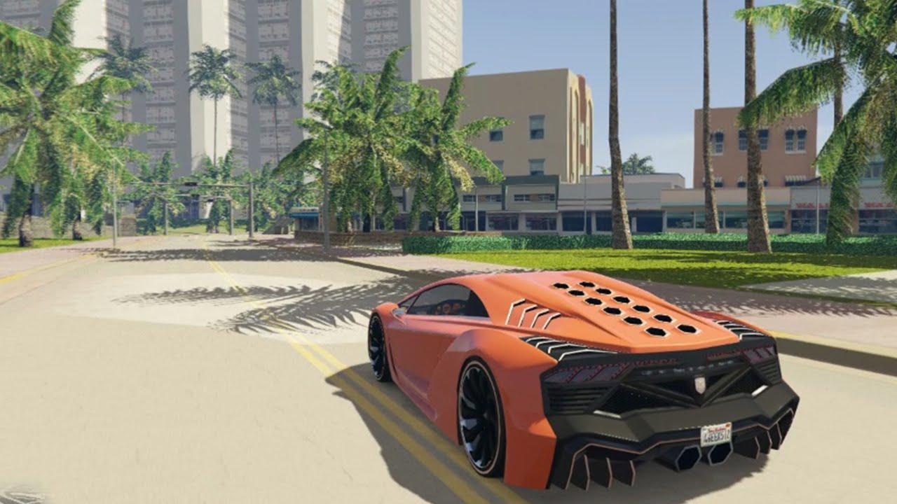 GTA 5 PC Mods - VICE CITY HD REMASTER MOD! GTA 5 Vice City ...