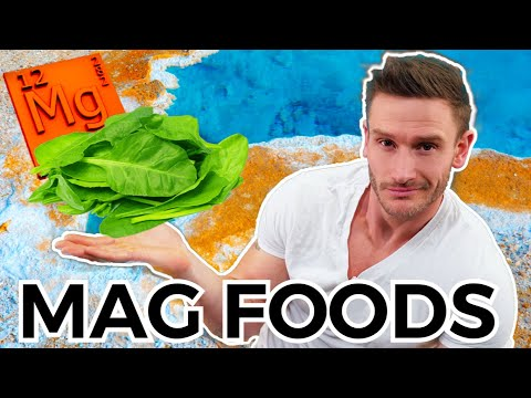 Eat These 6 Foods HIGH in Magnesium (You Probably Need it)