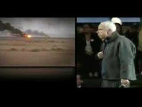 "DNC Ad on John McCain and Iraq: ""100"""