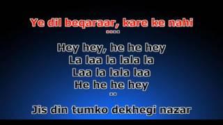 Sochenge tumhe pyar karen ki nahi Karaoke with my voice - Learn singing