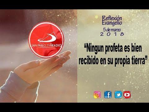 EVANGELIO DE HOY  LUNES 5 DE MARZO- BUENA NUEVA