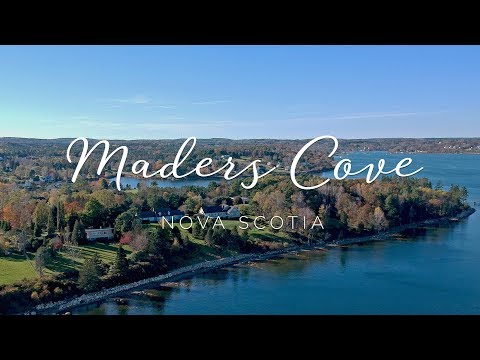 Maders Cove, Mahone Bay, Nova Scotia [DJI Spark Drone]