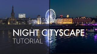 Drone Photography - Night Cityscape Tutorial