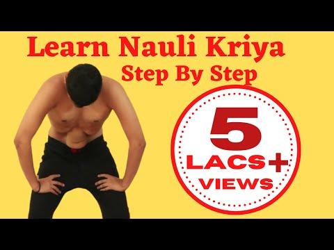Learn Nauli Kriya Step by Step