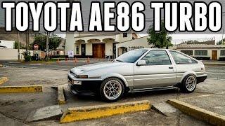 """""""Suke"""" el Toyota AE86 4AGE Turbo de 240hp!"""