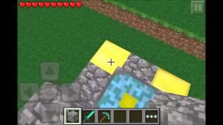 Nether Reaktor Portal in Minecraft Pocket Edition bauen GEHT NUR IM SURVIVAL! [Deutsch/German] [HD]