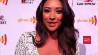 Shay Mitchell Shout Out to AfterEllen.com