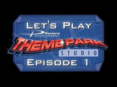 Let's Play Theme Park Studio - Episode 1 - A Brief Introduction |