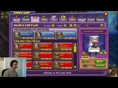 Wizard101 Pack Opening #14: New Skyvern Hoard Pack