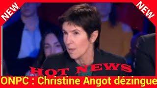 ONPC : Christine Angot dézingue Laeticia Hallyday