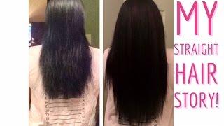 MY STRAIGHT HAIR STORY