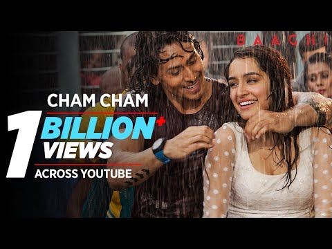Mix - Cham Cham Full Video | BAAGHI | Tiger Shroff, Shraddha Kapoor| Meet Bros, Monali Thakur| Sabbir Khan
