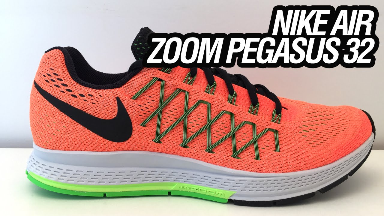 seguro Monumento Fuera  Nike Air Zoom Pegasus 32 (Unboxing) - YouTube