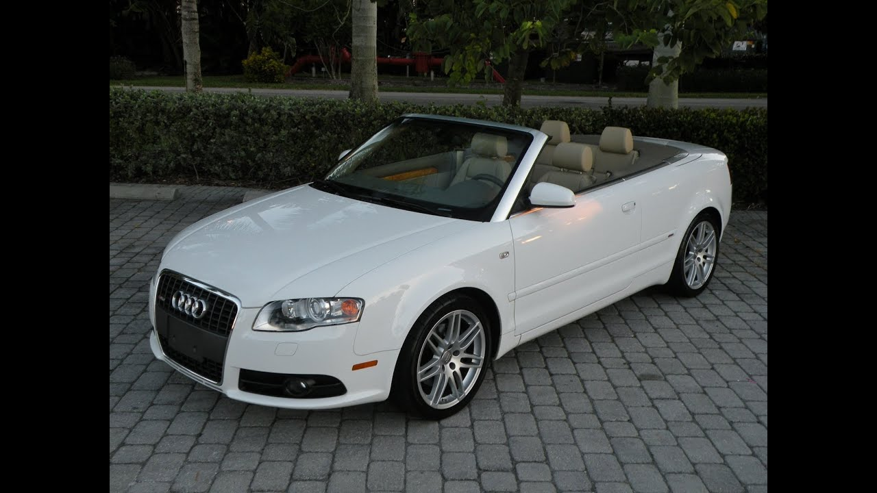 2009 audi a4 2.0t special edition fort myers florida - for s - youtube