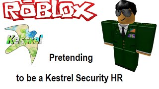 ROBLOX - Pretending to Be a HR