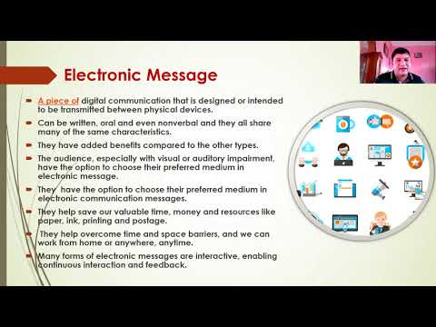 Electronic message