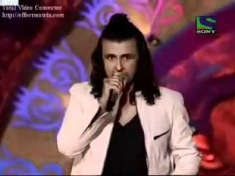 Tees Maar Khan LIVE by SONU NIGAM On Comedy Circus..flv