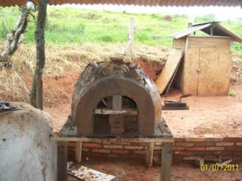 Argamassa para forno a lenha