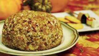 Ranch Chicken Cheese Ball Recipe ~ By Foodjazz