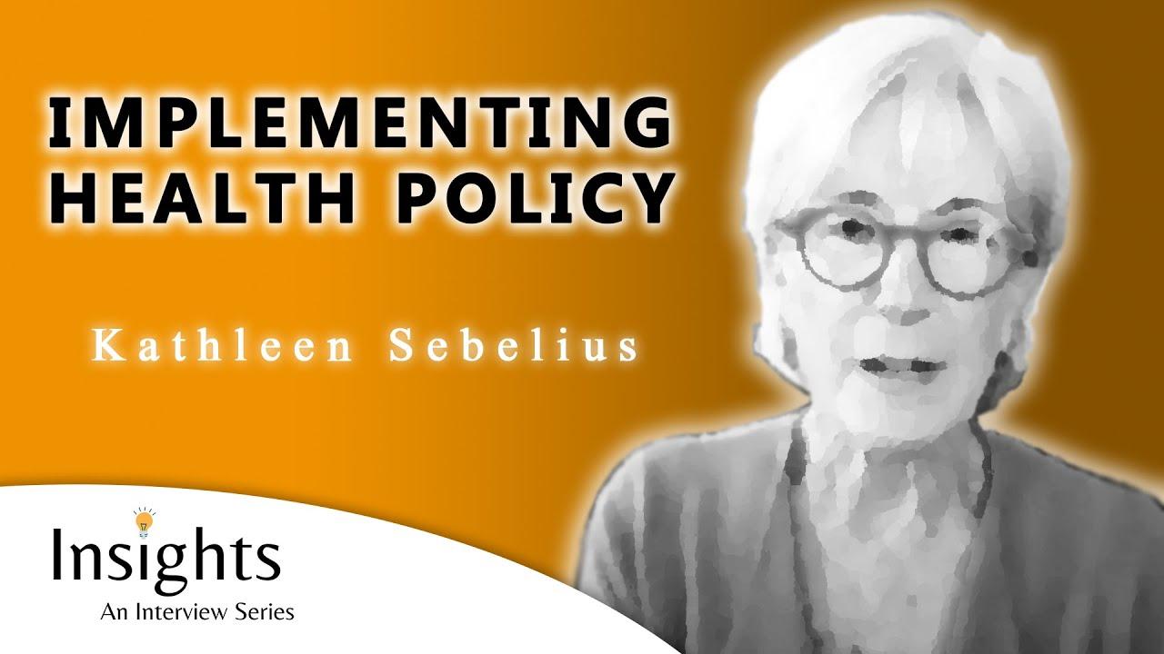 STEMPod Leaders #20 - Secretary Kathleen Sebelius