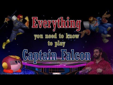 SSBM - The Falcon Talk: How to play Captain Falcon