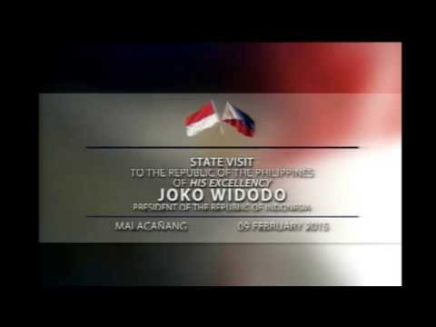 State Visit to the Philippines of Indonesian President Joko Widodo 2/9/2015