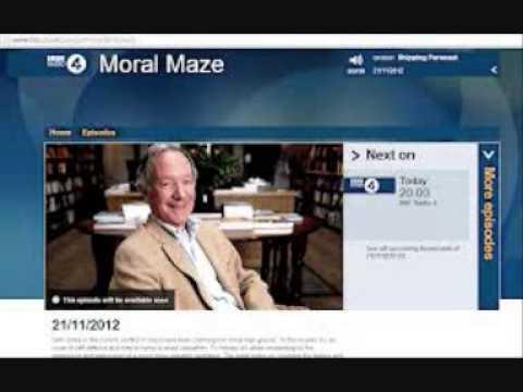 Israel & Gaza debate. BBC Moral Maze.