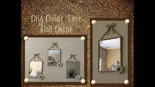 DIY Dollar Tree Wall Decor....