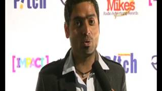 RJ Sudarshan, Red FM - Jaipur @Golden Mikes 2012