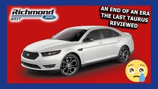 2019 Ford Taurus Review: Point Of View Walkaround