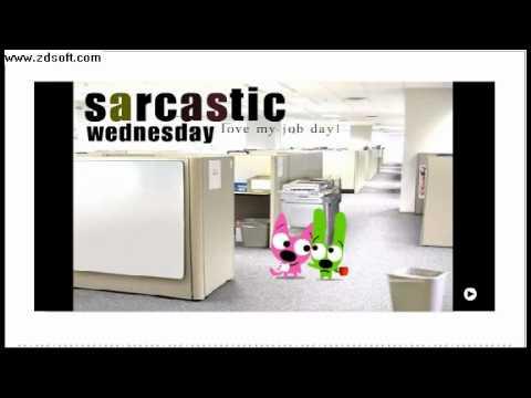 Hoops & Yoyo - It's sarcastic wednesday - YouTube Wednesday Coffee Quotes