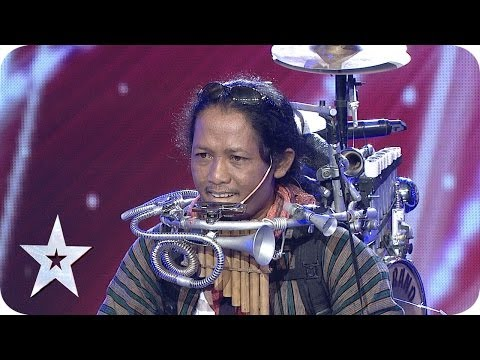 One Man Band by Yon Gondrong - AUDITION 4 - Indonesia's Got Talent [HD] Mp3