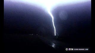 Close lightning strike - St. Libory, Illinois - January 9, 2020