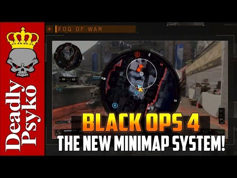 Black Ops 4 - Fog of War - The New Mini Map System! (Black Ops 4 Multiplayer Gameplay!)